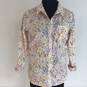 OLD NAVY Spring Floral Shirt